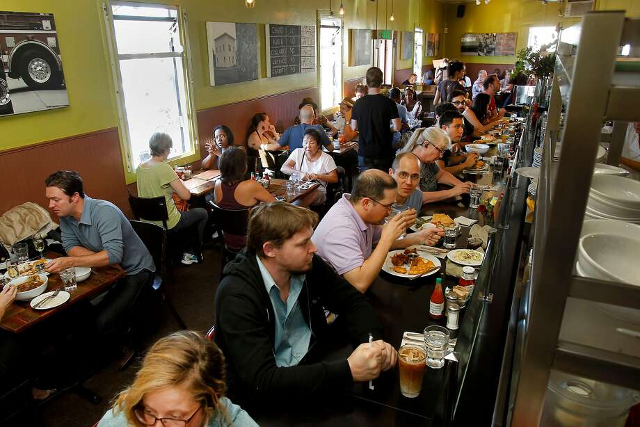 Brown Sugar Kitchen in West Oakland is a newcomer to the Michelin Bib Gourmand list. Photo: Brant Ward, The Chronicle