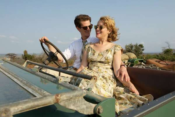 "L-R: Andrew Garfield as Robin Cavendish and Claire Foy as Diana Cavendish in a scene from ""Breathe,"" opening at Bay Area theaters on Friday, Oct. 20. Credit: David Bloomer, courtesy of Bleecker Street/Participant Media"