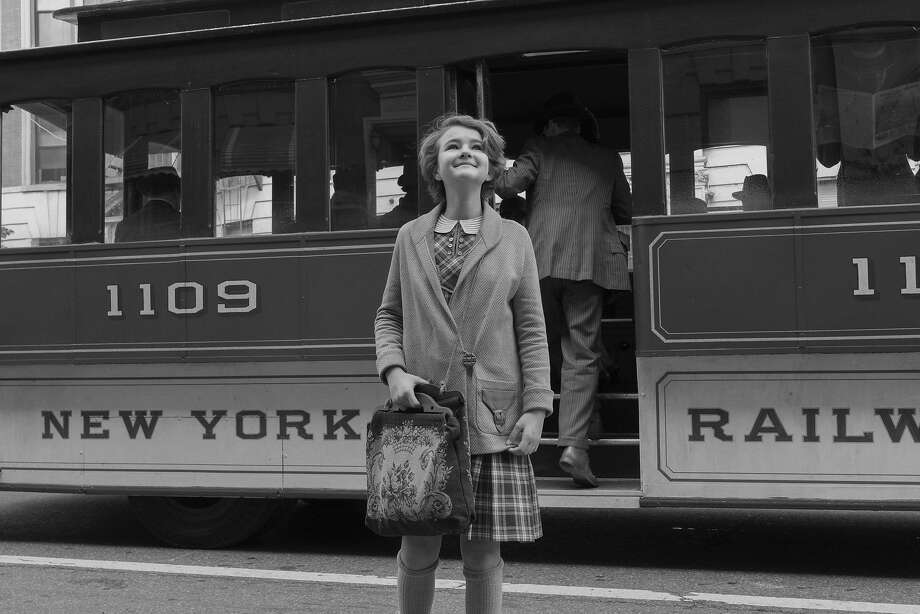 "Millicent Simmonds, a deaf 14-year old from Utah in her movie debut, p0lays Rose in Todd Haynes' new movie, ""Wonderstruck,"" shot entirely in black and white. Photo: Amazon Studios And Roadside Attractions"