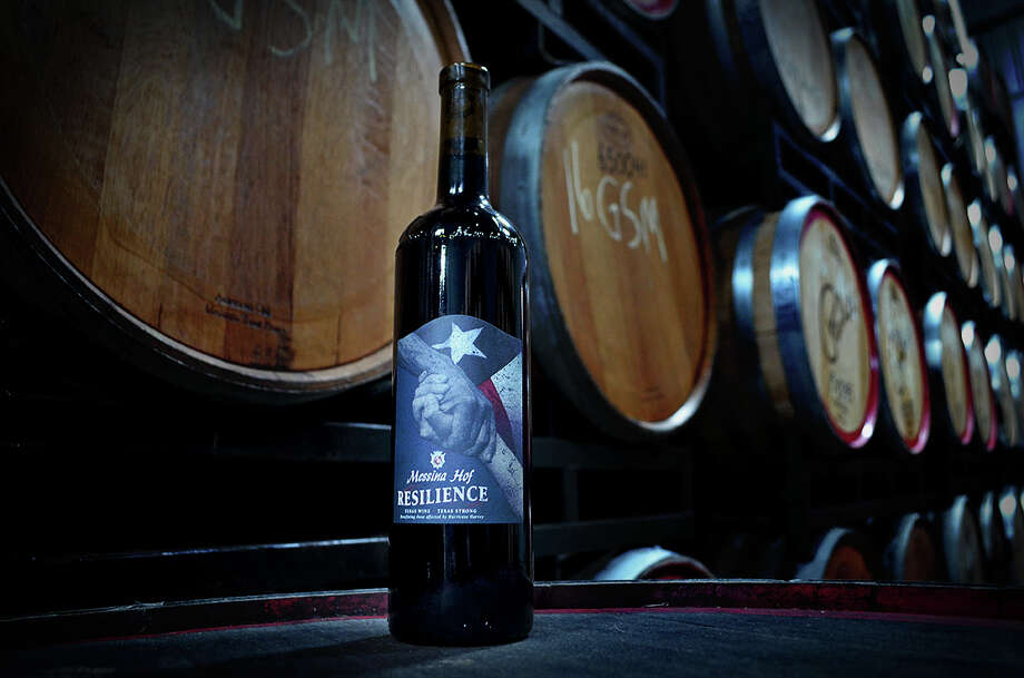 Texas winery Messina Hof this week unveiled a new way for Texans and those outside the state to support pepople impacted by Hurricane Harvey. The winery's special edition wine dubbed Resilience is currently on sale with 100 percent of profits going to Harvey relief efforts.See where to get your wine fix in Houston... Photo: Messina Hof