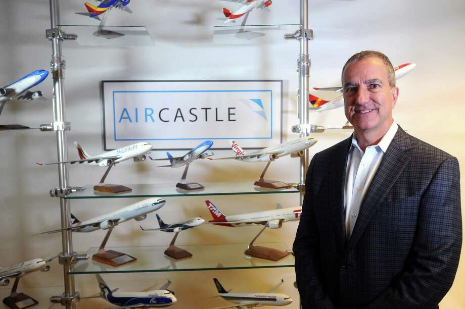 Aircastle CEO Michael Inglese poses for a photo inside the company's First Stamford Place offices, in Stamford, Conn., on Thursday, Sept. 7, 2017. Photo: Michael Cummo / Hearst Connecticut Media / Stamford Advocate