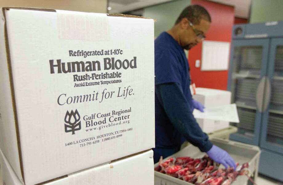 The Conroe VA Outpatient Clinic is hosting a blood drive with Gulf Coast Regional Blood Center on Friday. Photo: Jason Fochtman / Internal