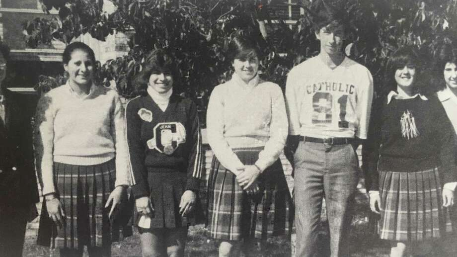 Students pose for the 1982 Central Catholic High School yearbook. Photo: Contributed Photo