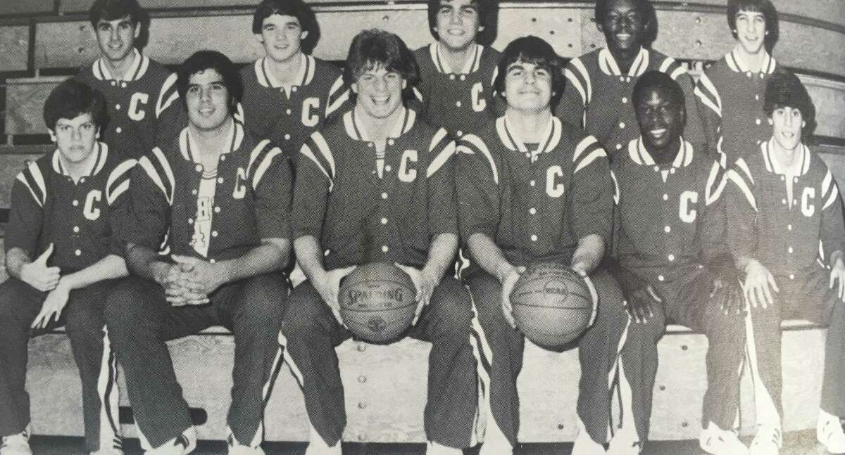 Students pose for the 1982 Central Catholic High School yearbook.