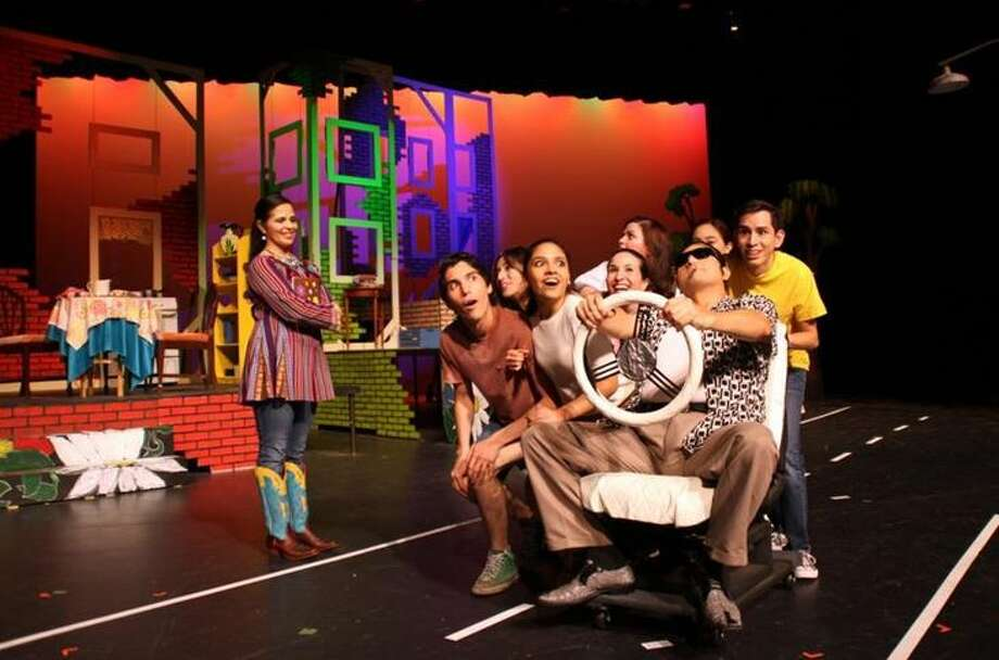 """Pictured is a scene from """"The House on Mango Street"""" by Sandra Cisneros. The play will run from Oct. 5 to Oct. 8 at the Guadalupe and Lilia Martinez Fine Arts Center Theatre. Photo: Courtesy"""