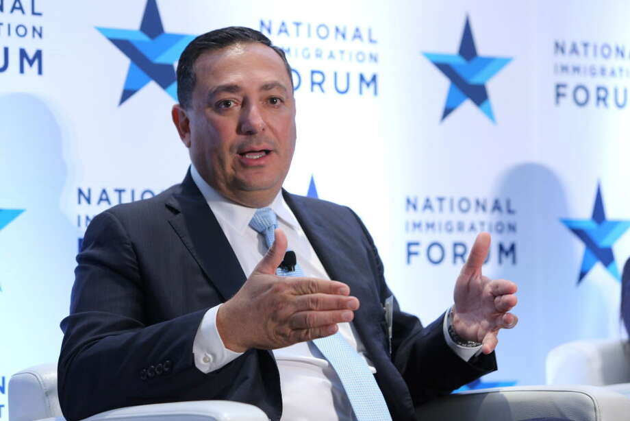 Houston Police Chief Art Acevedo talks at the National Immigration Forum conference in Washington, D.C., Oct. 5, 2017. Photo: Kevin Diaz, National Immigration Forum