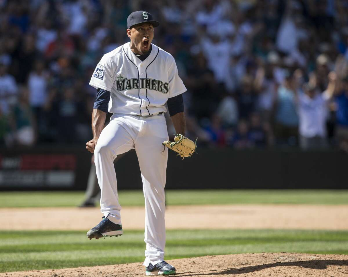 Bullpen: Seattle's bullpen performed pretty well in 2017 considering it was forced to throw over 569 innings, thanks to the shaky rotation. Fire-throwing closer Edwin Diaz will be back for his third MLB season, and he will be expected to improve after an up-and-down 2017 campaign that saw him struggle with control at times (his strikeouts-per-walk ratio declined by more than half from 2016). Setup man David Phelps, acquired via trade in July, should be back for the start of spring training after undergoing surgery to remove bone spurs in his elbow. Young players such as Emilio Pagain, James Pazos and Tony Zych likely figure into the team's long-term plans, and veteran Nick Vincent should return after a stellar season.