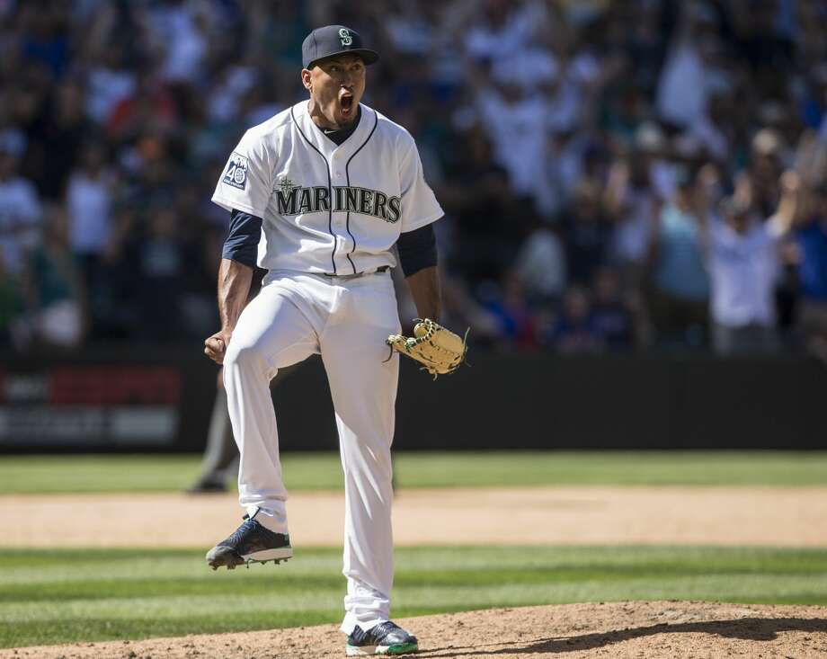 Bullpen: Seattle's bullpen performed pretty well in 2017 considering it was forced to throw over 569 innings, thanks to the shaky rotation. Fire-throwing closer Edwin Diaz will be back for his third MLB season, and he will be expected to improve after an up-and-down 2017 campaign that saw him struggle with control at times (his strikeouts-per-walk ratio declined by more than half from 2016). Setup man David Phelps, acquired via trade in July, should be back for the start of spring training after undergoing surgery to remove bone spurs in his elbow. Young players such as Emilio Pagain, James Pazos and Tony Zych likely figure into the team's long-term plans, and veteran Nick Vincent should return after a stellar season. Photo: Stephen Brashear/Getty Images
