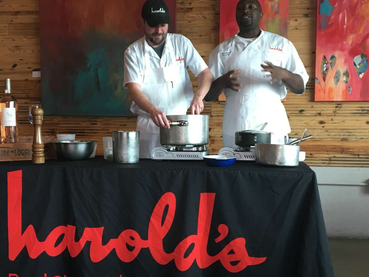 Harold's Chef Demo for 2017 Culinary Stars. Get your tickets today at www.houstonculinarystars.com!