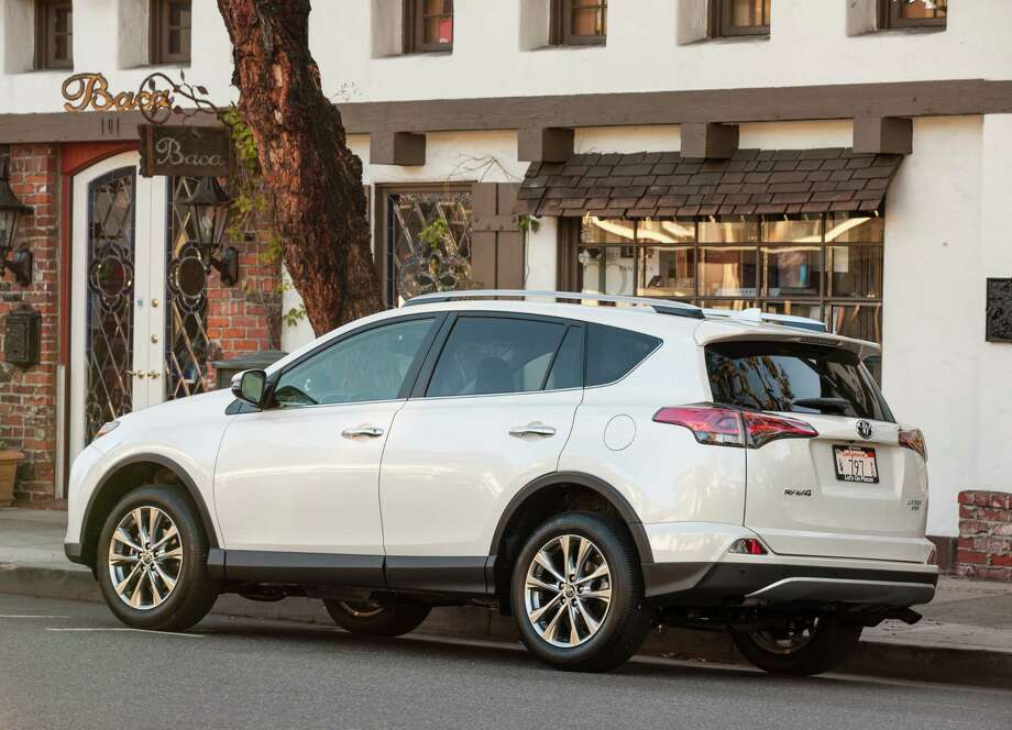 The RAV4 also is offered in a gasoline-electric hybrid version, which comes with a continuously variable automatic transmission. Photo: Toyota