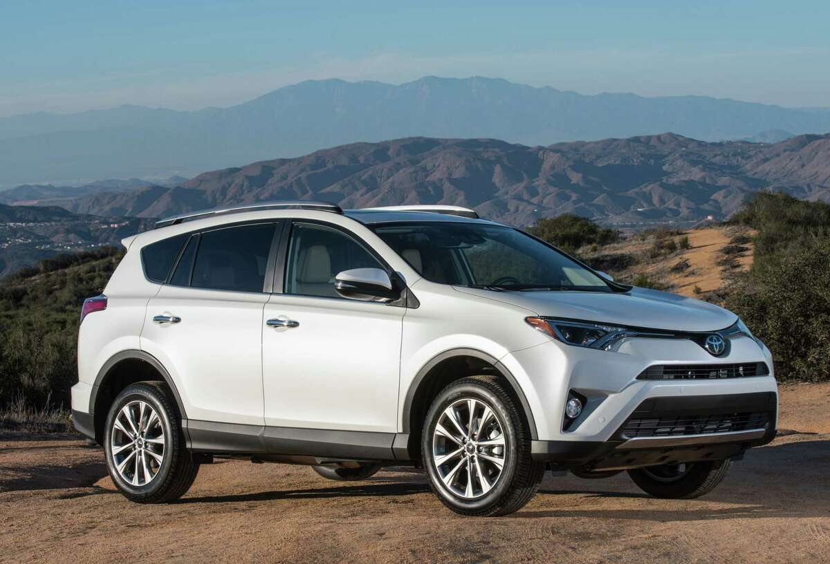 3. Toyota RAV4 - 8,249 new vehicles sold in the Houston area in 2018. - 2.7 percent market share
