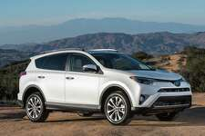 Gasoline-only versions of the 2017 Toyota RAV4 come with a 2.5-liter direct-injection four-cylinder engine with 176 horsepower and 172 foot-pounds of torque. It's connected to a six-speed automatic transmission.