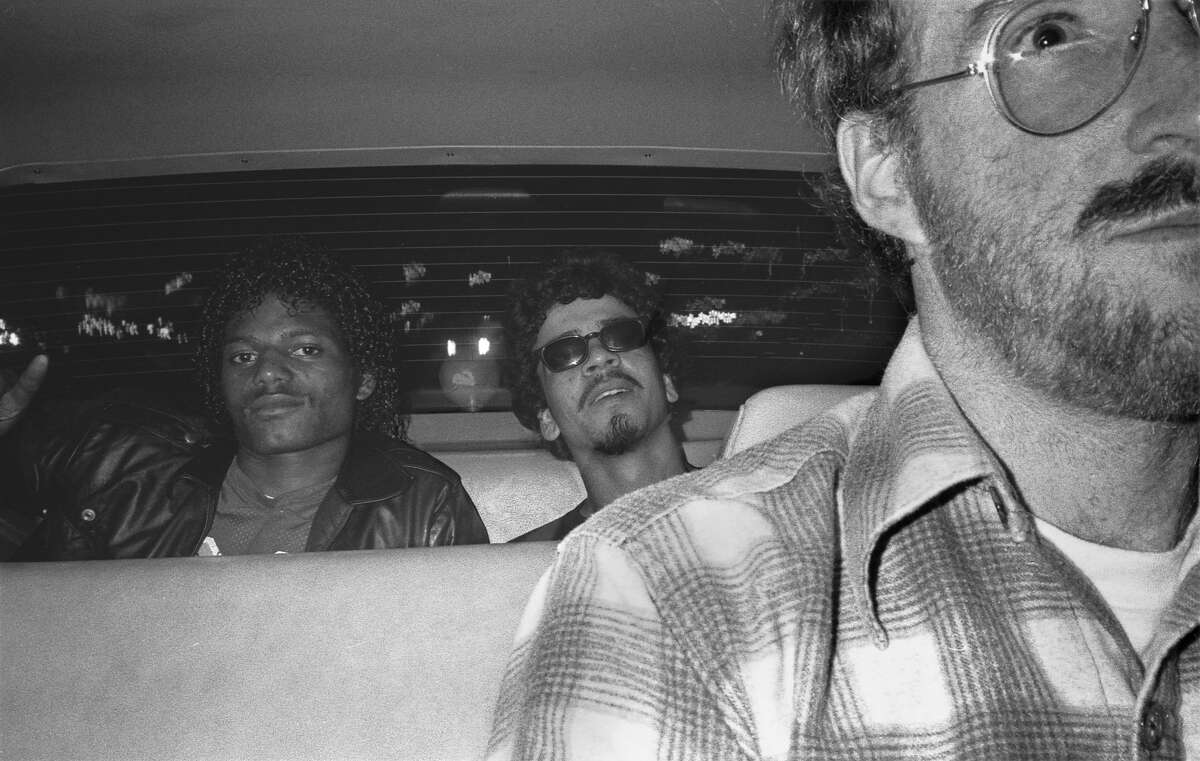 William Washburn spent about two years photographing those who stepped inside his taxicab during the early-1980s in San Francisco. He took over 500 portraits in that time and calls them