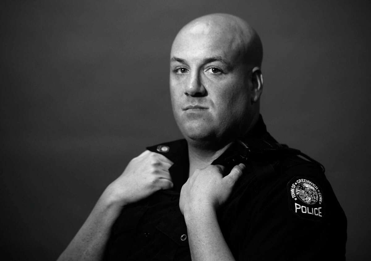 For the responding officers, like Greenwich Patrol Officer Tom Huestis, there is often no forgetting what they saw.
