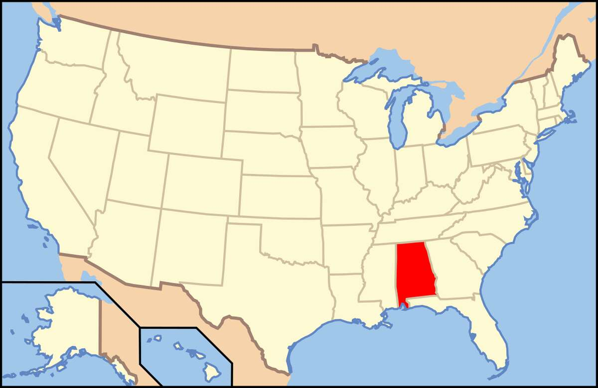 Alabama Most common last names: Smith, Williams and Johnson.