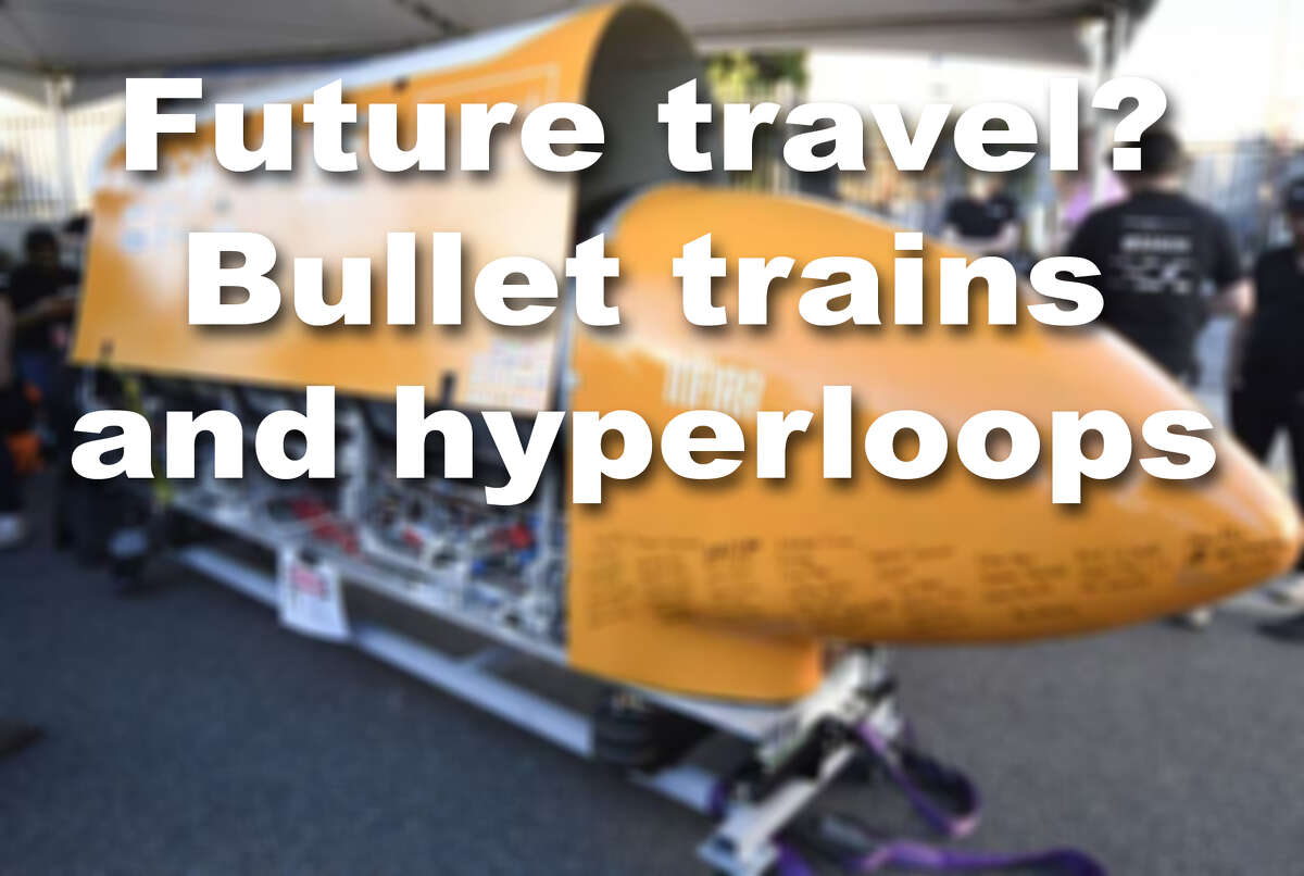 Bullet trains, hyperloops and other futuristic forms of travel are already in use and testing around the world.