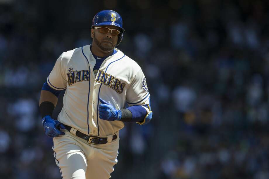Mariners DH Nelson Cruz was named the most outstanding designated hitter in baseball on Thursday. Check out our season grades for Cruz and the rest of the M's in the following gallery. Photo: Stephen Brashear/Getty Images