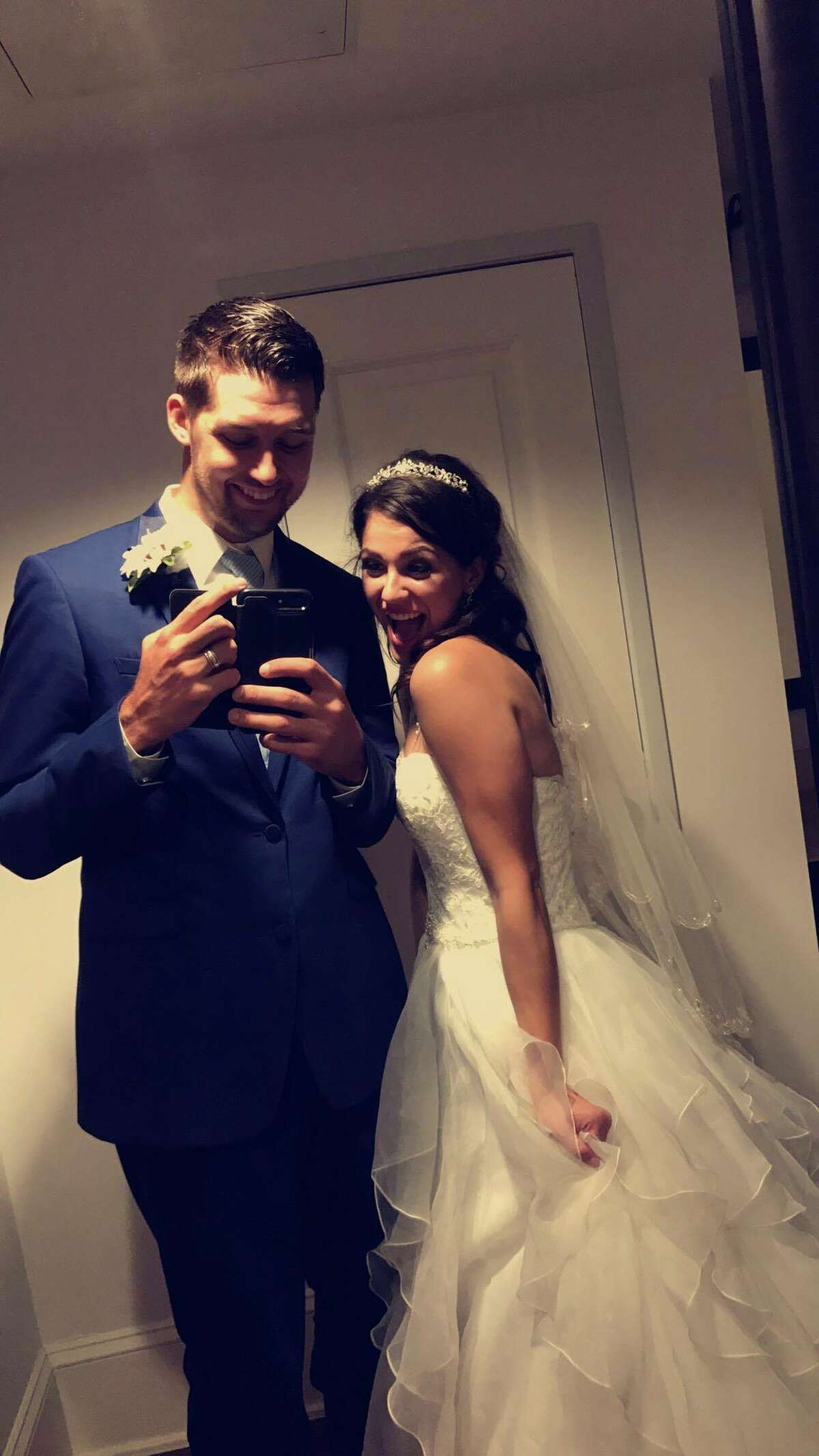 Newlyweds Rebekah and Tim Muenzler tied the knot - and became Twitter hits - last Saturday. The two got married in the Hill Country, then stopped by an Alamo City Whataburger for a midnight snack. Unbeknownst to them, the teen paparazzi was waiting to make them famous on Twitter.
