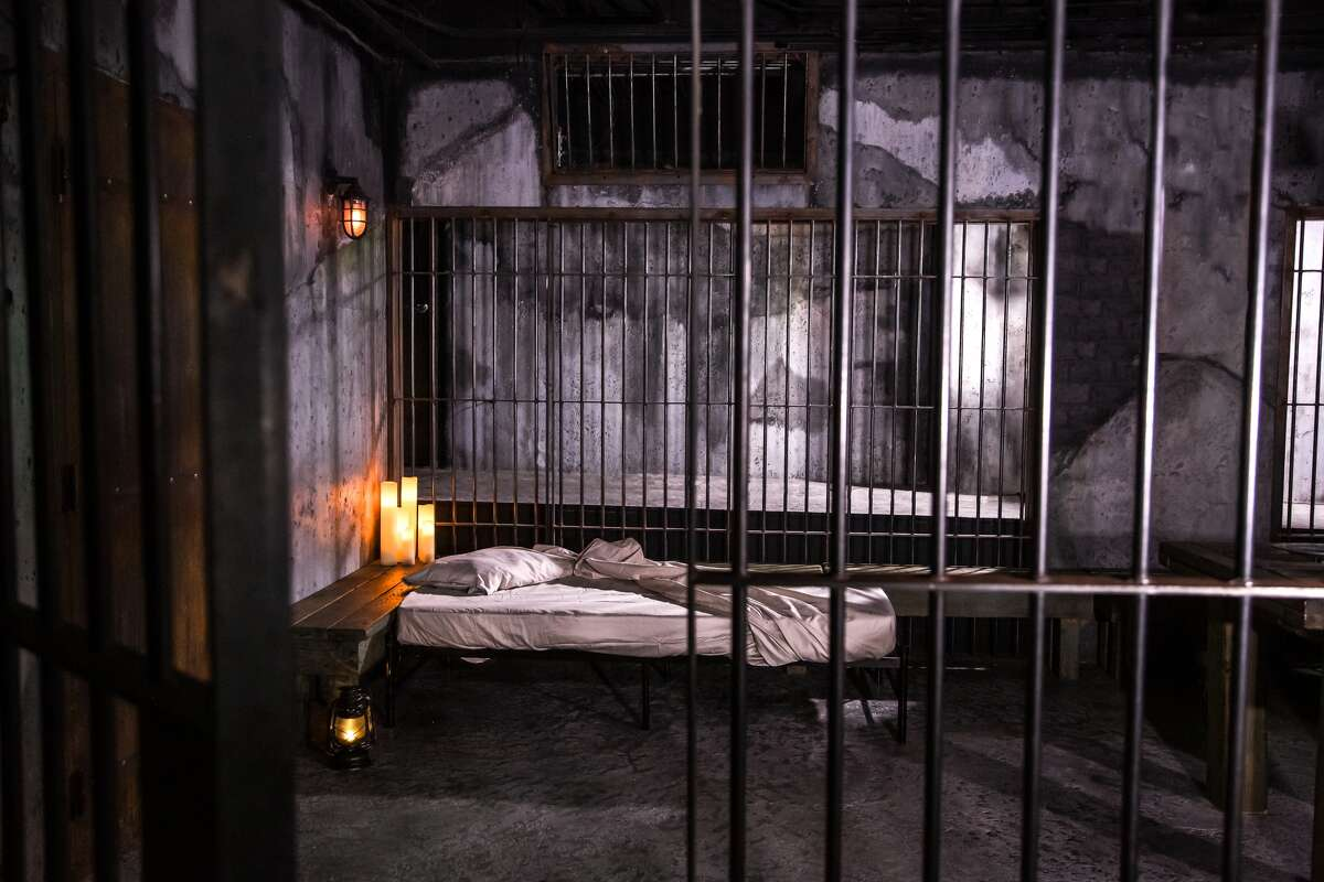 Locals and visitors to San Francisco can pay $666 for up to four people to stay overnight in a recreated Alcatraz jail cell.
