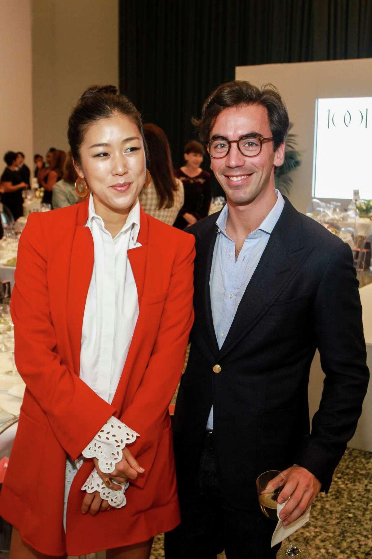 Oscar de la Renta creative directors Laura Kim and Fernando Garcia