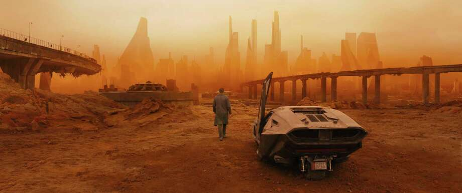 "This image released by warner Bros. Pictures shows a scene from ""Blade Runner 2049."" (Warner Bros. Pictures via AP) Photo: Warner Bros. Pictures, HONS / © 2017 Warner Bros. Entertainment Inc. All Rights Reserved."