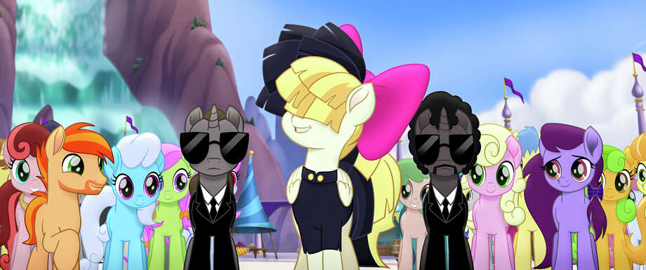 """Musical artist Sia voices a equine version of herself in the animated comedy/adventure """"My Little Pony: The Movie."""" Photo: Courtesy Lionsgate"""