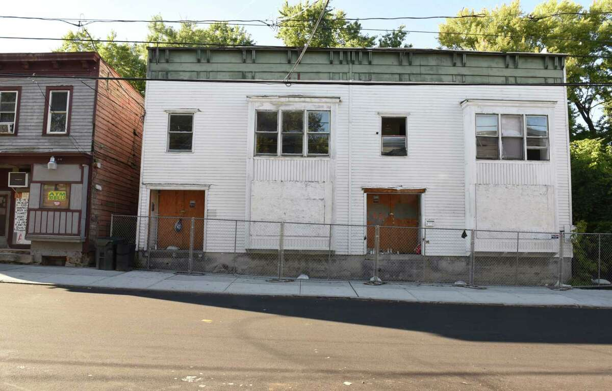 Building at 30 North Swan Street that has potential on Monday, Oct. 2, 2017 in Albany, N.Y. On Friday, October 6 the Albany Housing Authority and Albany Barn are hosting a block party to kickoff He(Art) of The Hill, an initiative to establish North Swan Street as a hub for the art community and attract businesses to help revitalize the neighborhood. (Lori Van Buren / Times Union)