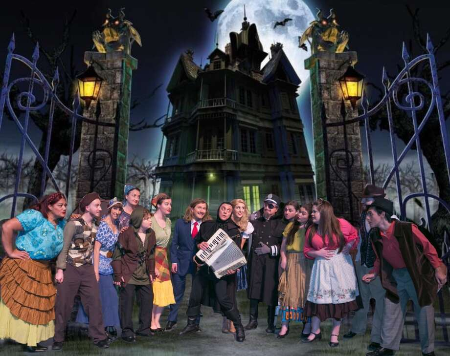 """The cast of Stage Right's """"Young Frankenstein."""" The show runs Oct. 20 through Nov. 5 at the Crighton Theatre in Conroe."""