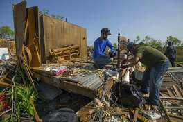 Lowe's Home Centers plans to hire more than 200 employees at nine stores in San Antonio and South Texas to meet demand for construction supplies in the wake of the Harvey storm system, the company said Thursday.
