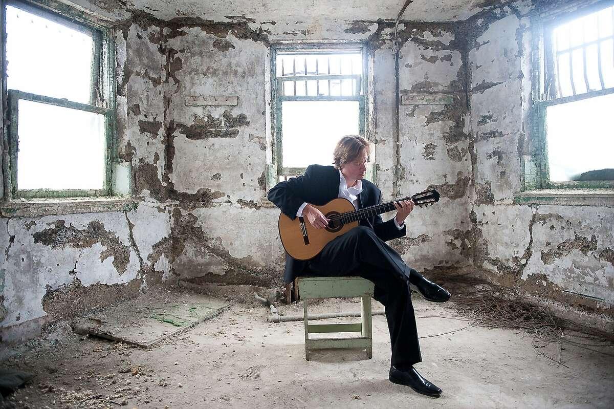 Guitarist Jason Vieaux performs Friday, Oct. 20 in Herbst Theatre
