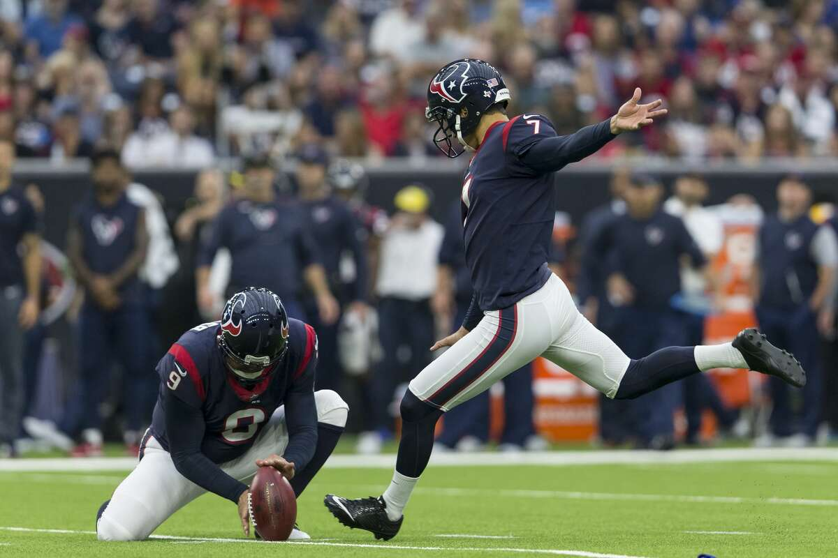 UCLAhas 30 players on an NFL roster based on Week 1. NFL PLAYER: Ka'imi Fairbairn of the Houston Texans.