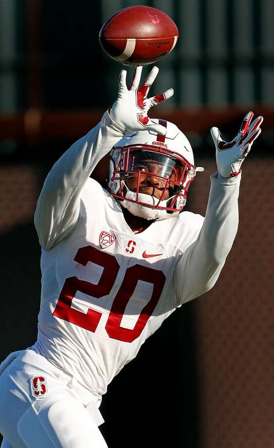 Stanford running back Bryce Love during practice in Stanford, Calif., on Wednesday, October 4, 2017. Photo: Scott Strazzante, The Chronicle