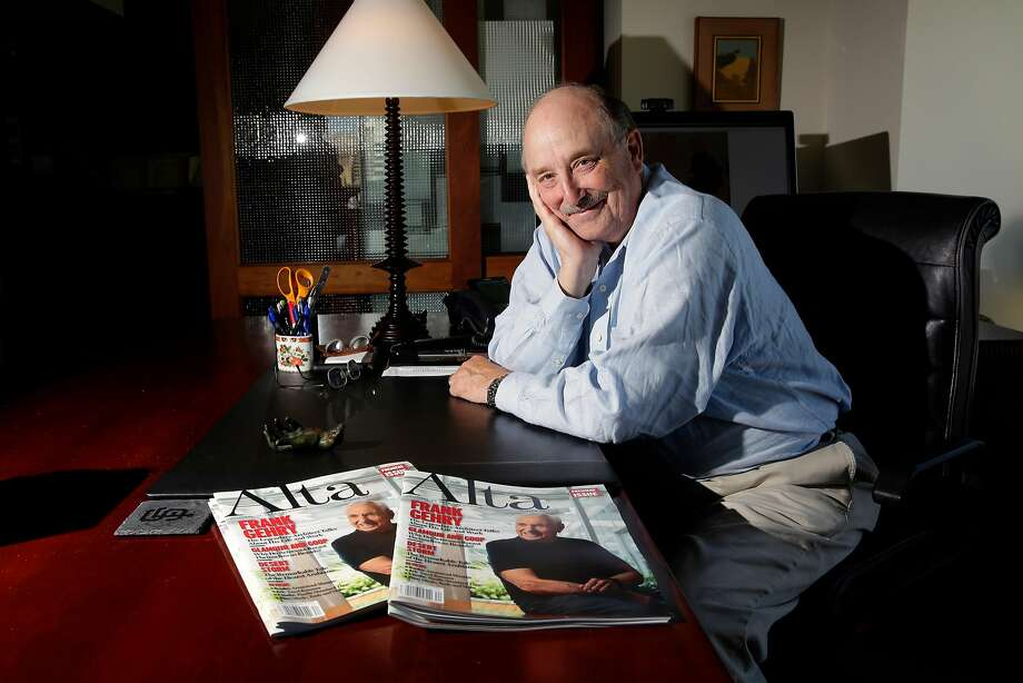 William R. Hearst III, at his downtown San Francisco office on Thursday September 21, 2017. Hearst is launching a new magazine called The Journal of Alta California, that will cover the state from all angles. Photo: Michael Macor, The Chronicle