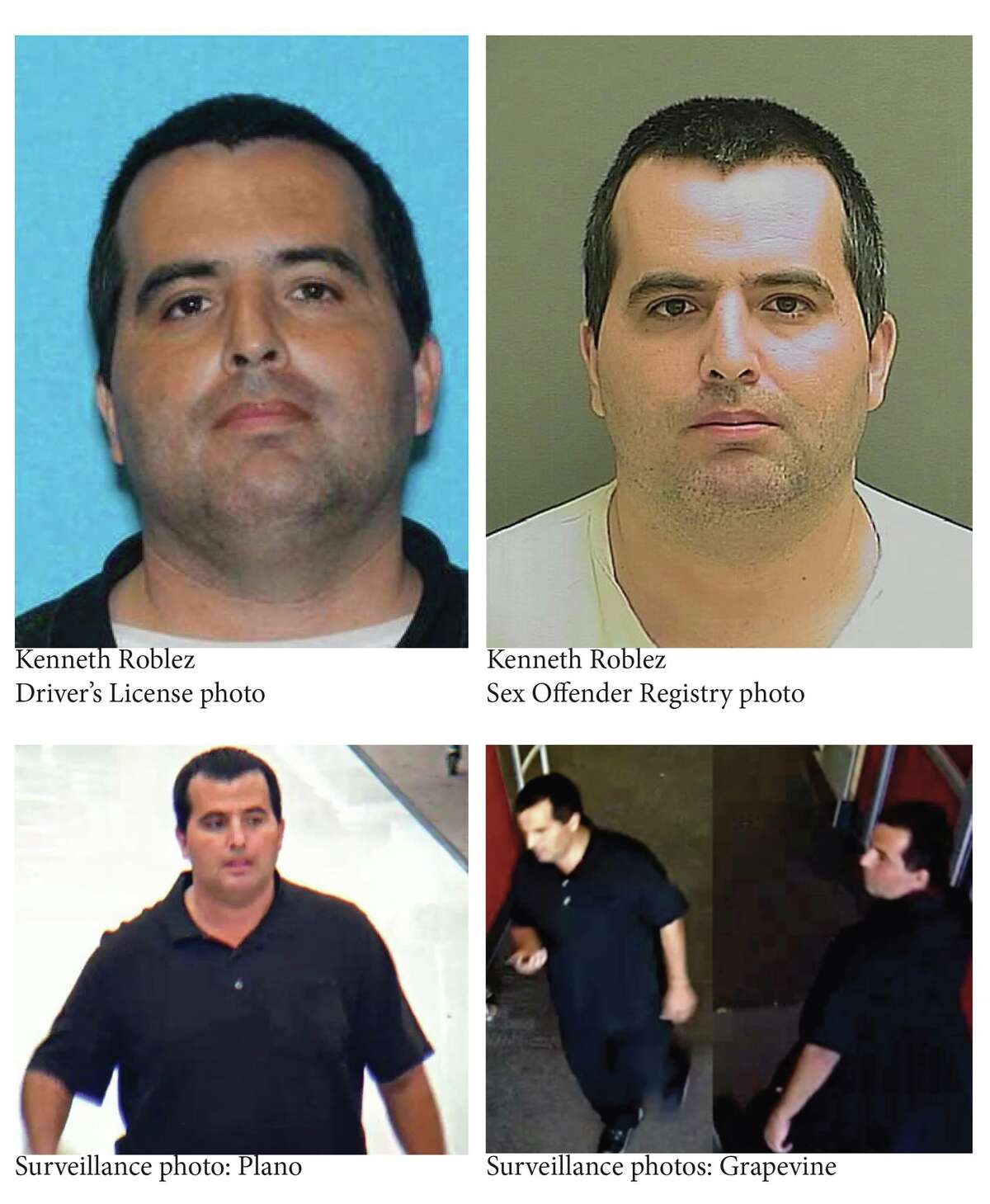 Grapevine police have identified the man who they say made lewd comments to children as Kenneth Dewayne Roblez, 38, a registered sex offender from Dallas.