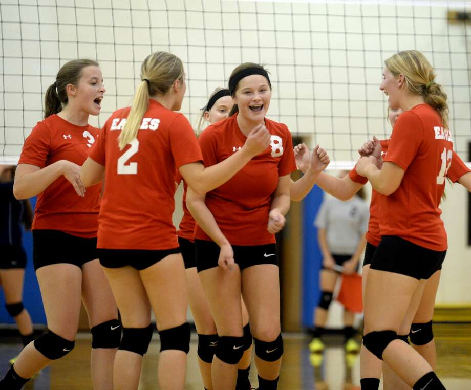 Caseville at North Huron — Volleyball 2017 Photo: Paul P. Adams/Huron Daily Tribune
