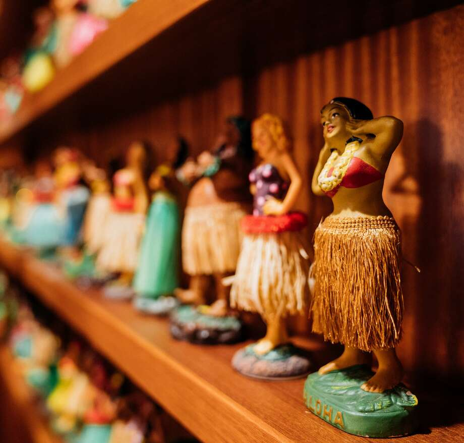 The Laylow's retro lounge and hula dolls. Photo: The Laylow