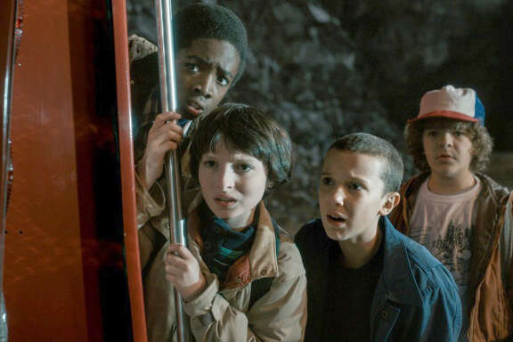 """Thanks to the success of """"Stranger Things"""" and other series, Netflix's audience has doubled since early 2013."""