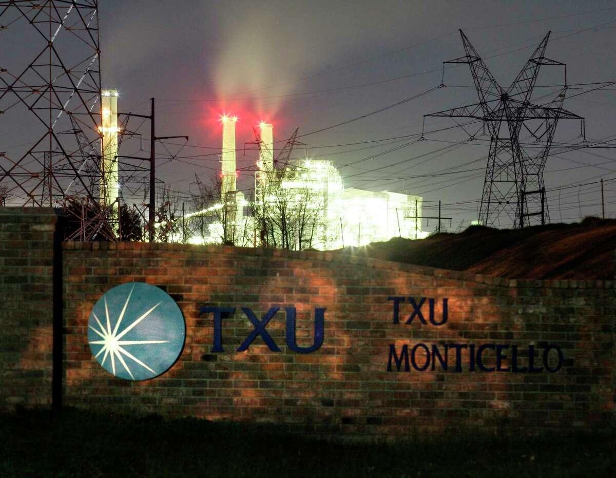 The Monticello coal-power plant near Mt. Pleasant, Texas. (REUTERS/Mike Stone)