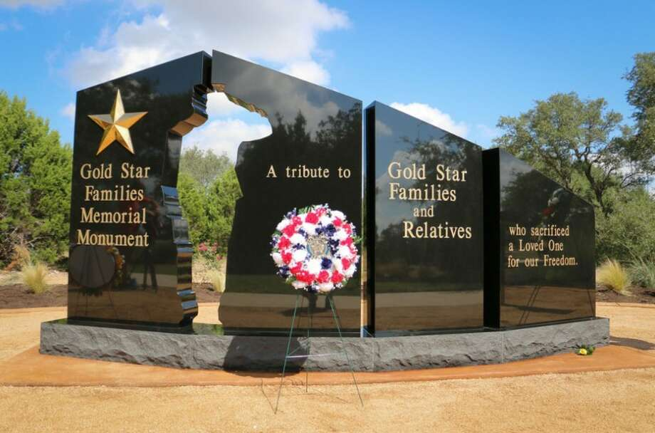 The Central Texas Gold Star Family Memorial Monument at Cedar Park is the first of its kind in Texas, honoring families of those killed while serving in the military. A monument honoring South Plains area Gold Star Families as well of Purple Heart and Medal of Honor recipients is planned for Lubbock.