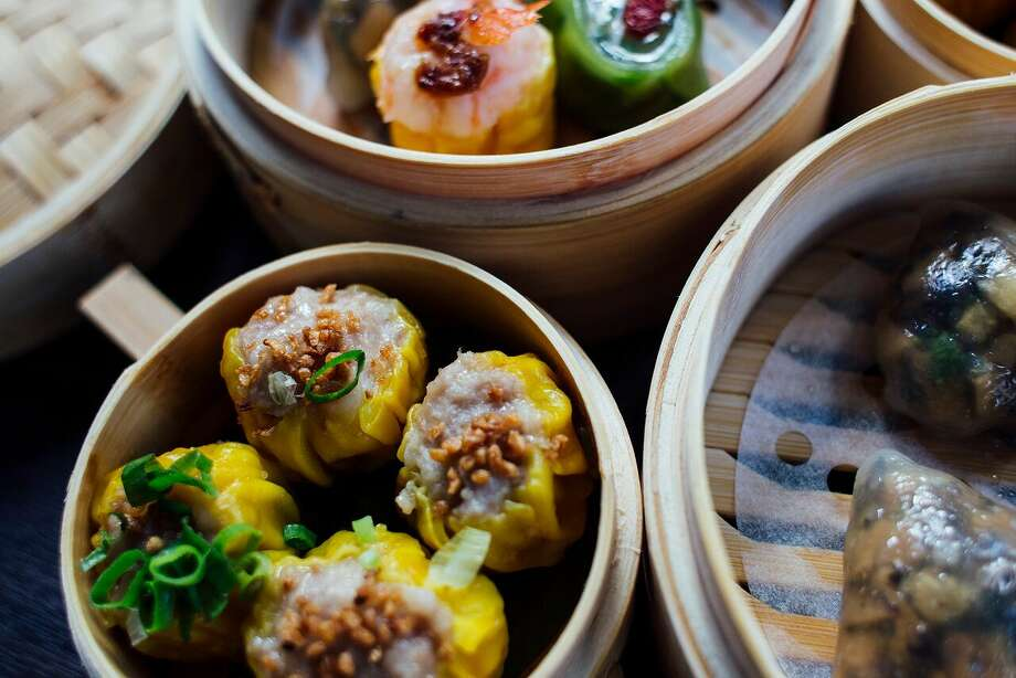 Dim sum assortment at Yauatcha's new happy hour. Photo: Courtesy