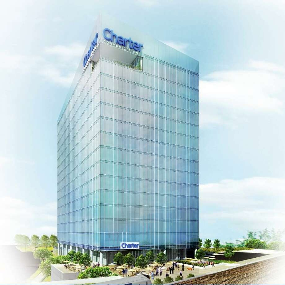 An artist's rendering of Charter Communications' proposed headquarters at 406 Washington Blvd., at the Gateway Harbor Point complex, in downtown Stamford. Photo: Contributed Image
