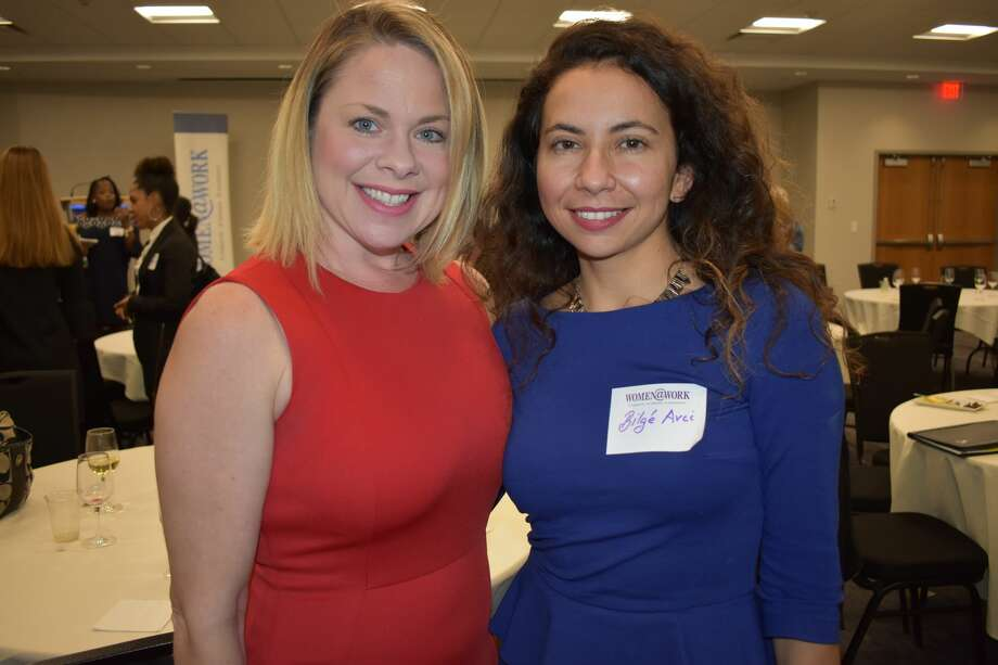 Were you Seen at the Women@Work Summit: Ideas into Action Event at the Hearst Media Center on Thursday, October 5 2017?  Photo: Shelby Wadsworth