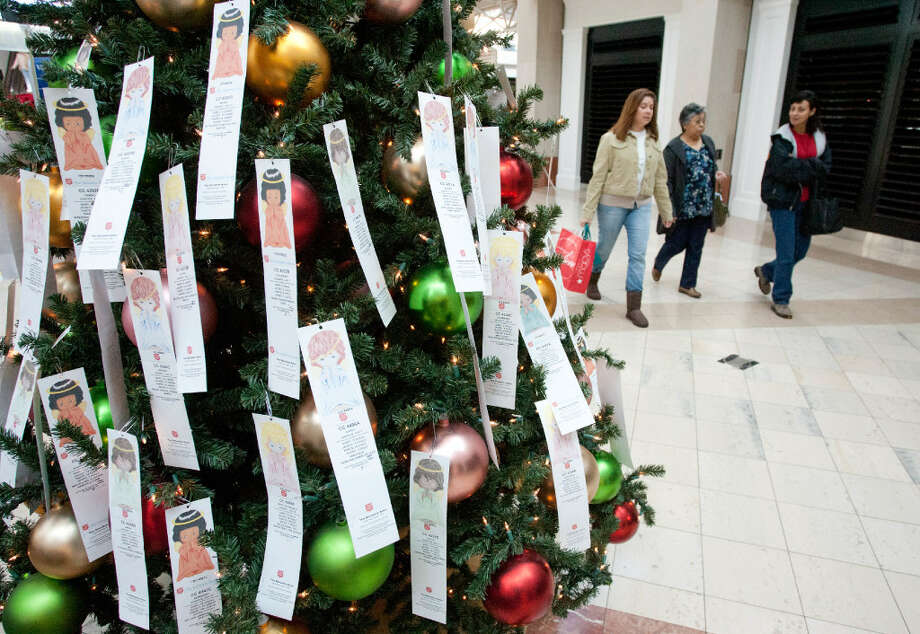 The Angel Tree provides the opportunity for donors, families and businesses to personalize a gift for a child or senior citizen in need by adopting an angel and purchasing gifts for that individual.  Photo: Courtesy Photo