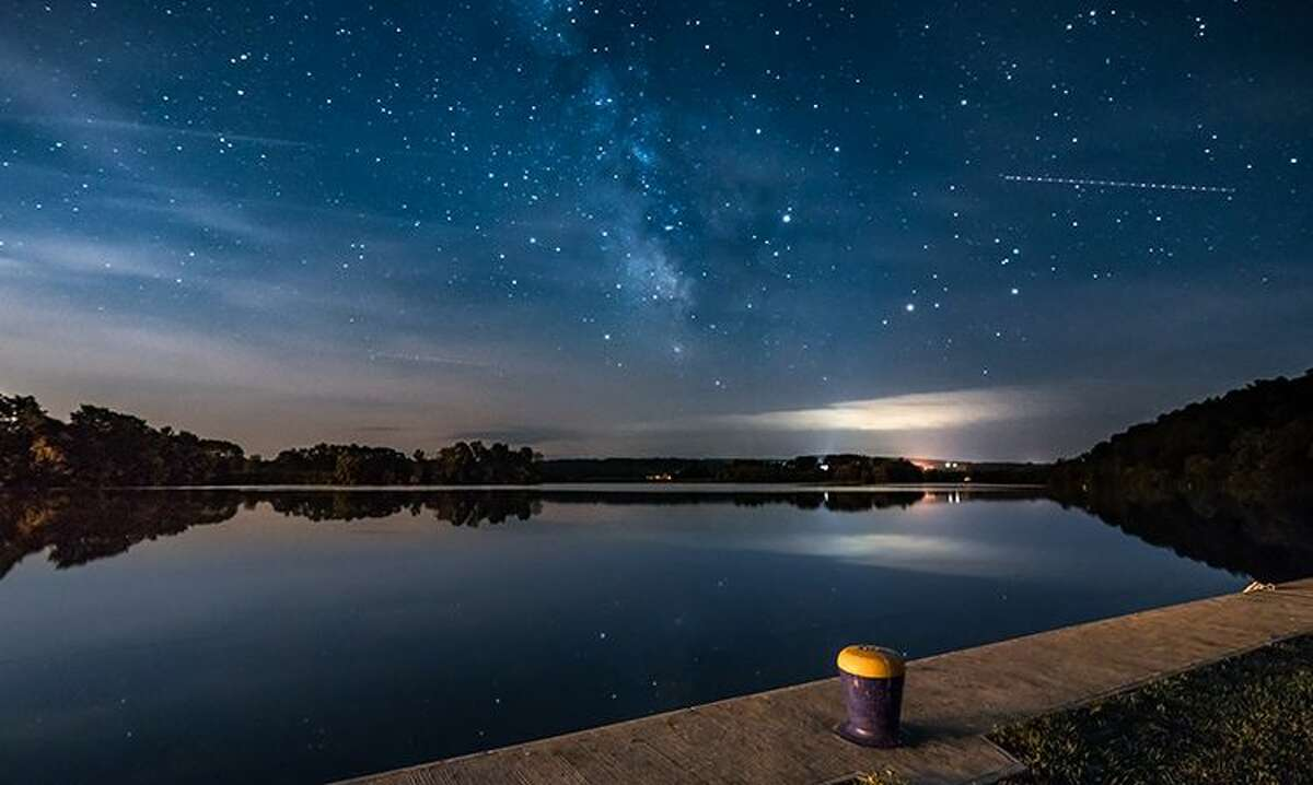 Milky Way Over the Mohawk River, Tribes Hill, by Stefanie Obkirchner of Amsterdam is the first-place winner, Along the Trail category, in the Erie Canalway National Heritage Corridor's 12th Annual Erie Canalway Photo Contest.