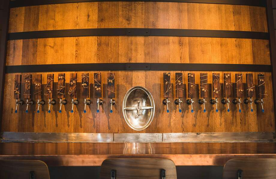 Sante Adairius Rustic Ales taproom in downtown Santa Cruz Photo: Keith Wells