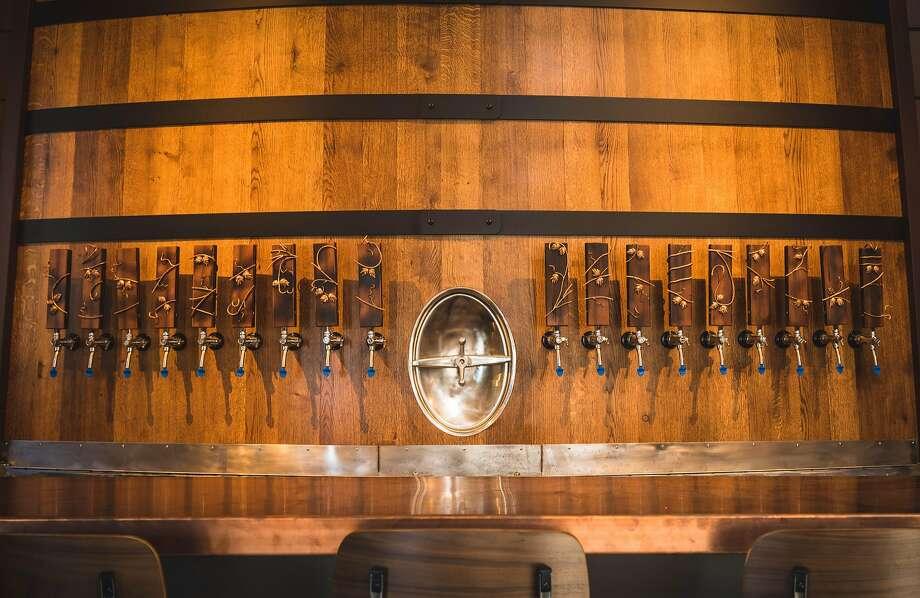 Sante Adairius Rustic Ales taproom in downtown Santa Cruz Photo: Keith Wells