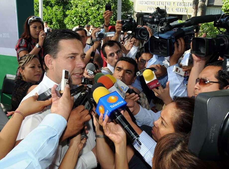 Asegura el Gobernador del Estado Eugenio Hernandez Flores que fuerzas federales y estatales se unirán para combatir al crimen organizado y así recuperar la región Ribereña afectada por la presencia de organizaciones criminales en las últimas semanas. Photo: Foto De Cortesía / Gobierno De Tamaulipas / Gobierno de Tamaulipas