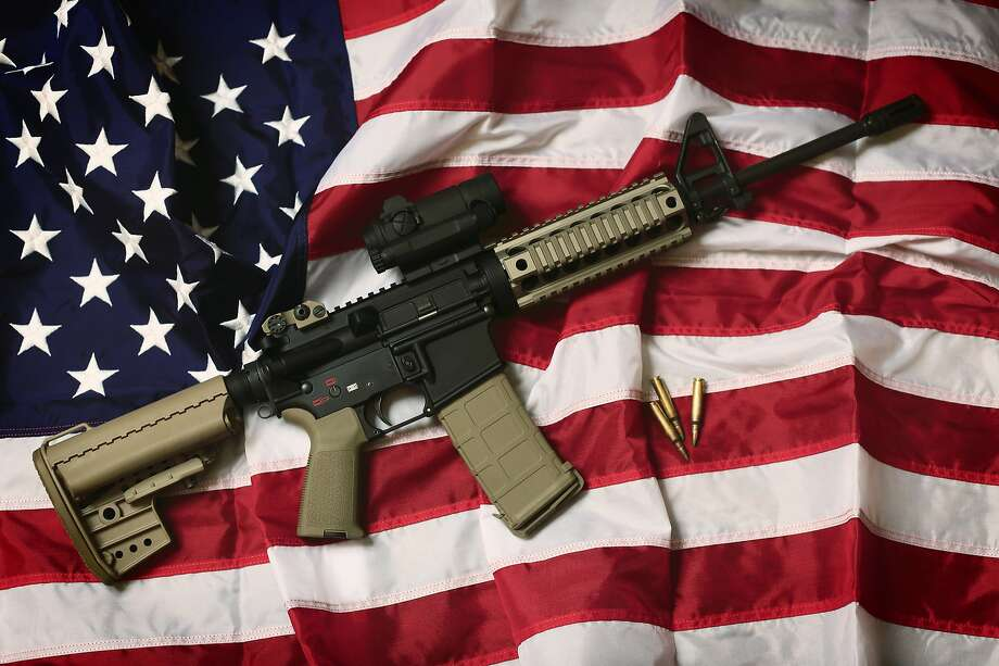 Second Amendment, gun laws, assault weapons ban, right to bear arms, NRA Photo: Casenbina, Getty Images