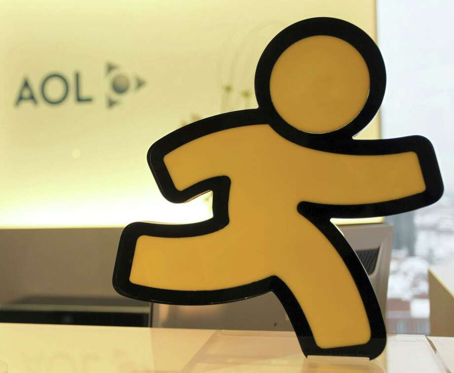 An AOL logo is seen in the company's office in Hamburg, Germany. AOL announced on Friday that it will discontinue its once-popular Instant Messenger platform on Dec. 15. Photo: Associated Press File Photo / AP2010