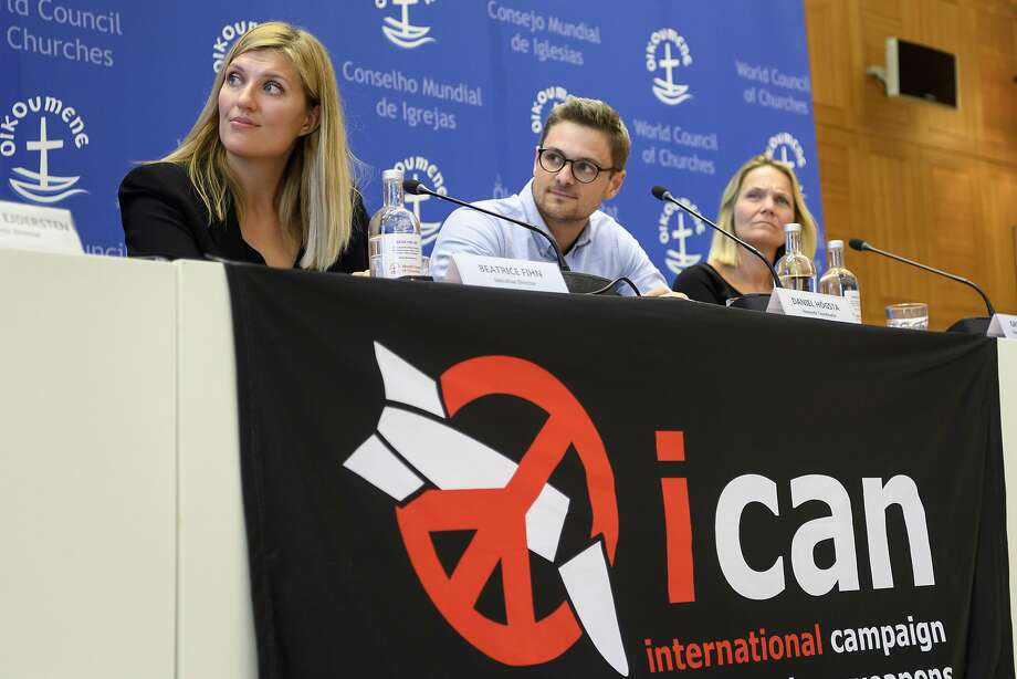 "Nobel Peace Prize Laureates  The International Campaign to Abolish Nuclear Weapons (ICAN) won the 2017 Nobel Peace Prize. The Norwegian Nobel Committee honored the Geneva-based group ""for its work to draw attention to the catastrophic humanitarian consequences of any use of nuclear weapons and for its ground-breaking efforts to achieve a treaty-based prohibition of such weapons.""  Click through the rest of the images to see every Nobel Peace Prize winner since the award was first given in 1901.  Photo: Martial Trezzini, Associated Press"